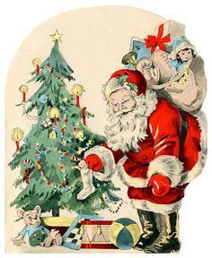 1568 best vintage greeting cards images on pinterest vintage santa amp his bag of presents vintage christmas free 1500 paper dolls at arielle m4hsunfo