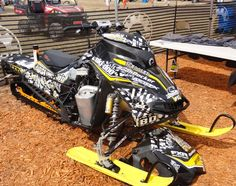 At the Ski-Doo Booth - HayDays 2013