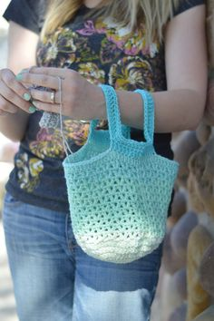 Crochet in Public Bag Pattern