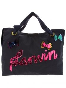 Lanvin ribbon tote bag