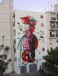street art bifido & julieta