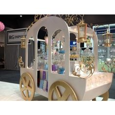 Princess Candy Cart