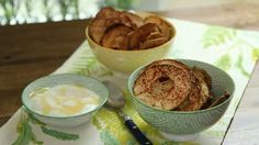 Baked Apple Chips Video