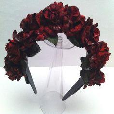Diademas de rosas. DIY-headband