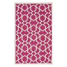 Lace Trellis 5x8 Pink, $245, now featured on Fab.