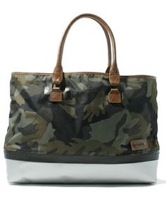 DIESEL BAG & ACCESSORY / CAMOU RUBBER HUB T(トートバッグ)
