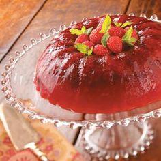 Cran-Raspberry Gelatin Salad  2012 Ellen made for Thanksgiving-Wonderful