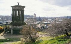 Ramsays is the absolute best bed and breakfast in Edinburgh   Panorama from Calton Hill