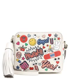 2e52c4e8f423 ANYA HINDMARCH All Over Stickers Leather Shoulder Bag.  anyahindmarch  bags   shoulder bags