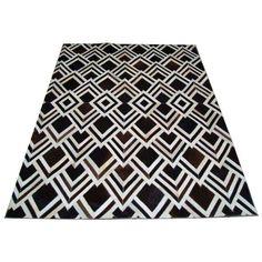 Ковер из шкур 'Белый ромб' Paso #carpet #carpets #rugs #rug #interior #designer #ковер #ковры #коврыизшкур #шкуры #дизайн #marqis