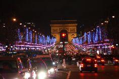 Kerstsfeer op de Champs Elysees