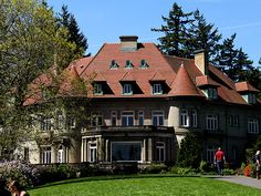 We had such a lovely visit at Pittock Mansion when we were on our honeymoon in 2010