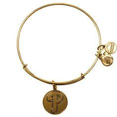 Philadelphia Phillies Alex and Ani Women's Bracelet - Gold