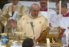 VIDEO Y TEXTO COMPLETO: Primera homilía del Papa Francisco, con los cardenales en la Capilla Sixtina