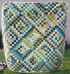 Finished Chicopee Scrappy Trip Quilt - Pitter Putter Stitch