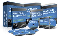 How to Write Songs That Sell Video Course (no SSC – CB) — Success For Your Songs - An advanced songwriting system for crafting songs that people want to hear. www.digitalbookshops.com #Arts #Entertainment #Art #Music