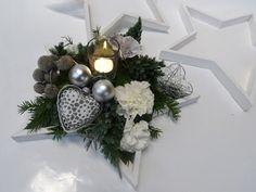 kerst workshops christa snoek witte ster kerststuk