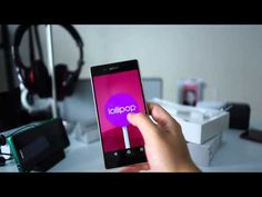 Sony Xperia Z3+ Unboxing Video
