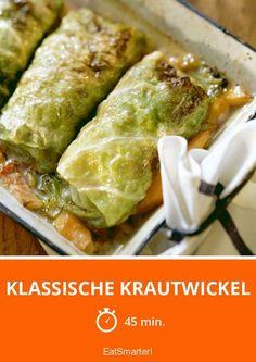 Klassische Krautwickel - smarter - Zeit: 45 Min. | eatsmarter.de