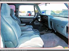 1984 dodge truck interior