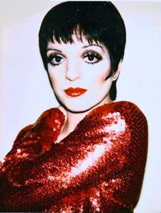 Disco Glam - Liza Minnelli wearing Halston, photograph by Andy Warhol Disco Makeup, 70s Makeup, Andy Warhol, Studio 54 Disco, Manhattan, 70s Glam, Bianca Jagger, Liza Minnelli, Disco Party