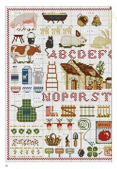 Gallery.ru / Фото #56 - 195 - Yra3raza Cross Stitch Boards, Mini Cross Stitch, Cross Stitch Alphabet, Cross Stitch Samplers, Cross Stitch Animals, Cross Stitching, Cross Stitch Embroidery, Cross Stitch Designs, Cross Stitch Patterns