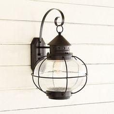 ballard designs Charleston 1-Light Outdoor Lantern for back porch