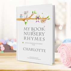 Personalised My Book Of Nursery Rhymes | GettingPersonal.co.uk