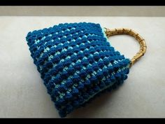 CROCHET: How to crochet the Waffle stitch   Bella Coco - YouTube