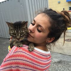 Wishing I was with my Lynx on her special day ... Missing my baby girl.  #NationalCatDay  by ninadobrev