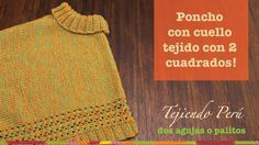 Crochet Baby Poncho, Crochet Shawl, Knit Crochet, Knitting For Kids, Baby Knitting, Capes & Ponchos, Hippie Crochet, Bolero, Crochet Videos