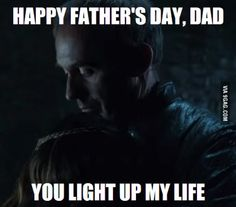 Happy Father's Day! #GameofThrones #ouch