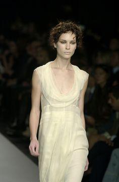 A is for Alberta Ferretti:  Milan Spring 2002.