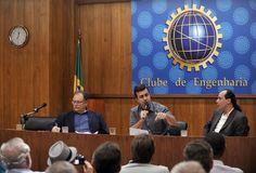 No Clube de Engenharia, debatendo propostas para a política de Transporte e Mobilidade