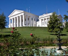 State Capitol, Richmond, Virginia.  The city is beautiful and it's a fascinating place to visit.