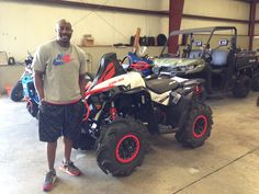 Thank you Gary Graves from Hattiesburg, MS for getting your 2017 Can-Am Renegade from Hattiesburg Cycles #canam