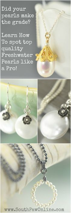 Be the educated shopper! Learn how to spot top quality pearl like a pro. Freshwater pearl jewelry quality grading system