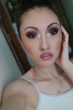 Punky chic make up