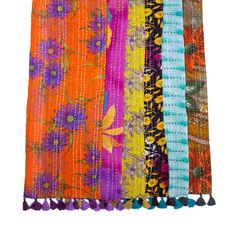 Colorful,Upcycled Scarves Fair Trade and Wholesale | Matr Boomie