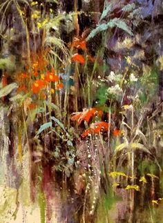 Iowa Ditch Weed 2 by Tom Christopher Pastel ~ 24 x 18