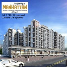 Majestique Manhattan - 1 & 2 BHK flats and commercial spaces by Majestique Properties at Wagholi, Pune. To know more Visit: http://www.puneproperties.com/majestique-manhattan-flats-commercial-spaces-wagholi.html #PuneProperties #FlatsinPune #ApartmentsinPune #FlatsinWagholi #ApartmentsinWagholi