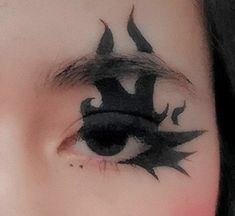 Makeup Eye Looks, Eye Makeup Art, Pretty Makeup, Makeup Eyes, Punk Makeup, Grunge Makeup, Anime Makeup, Alternative Makeup, Creative Eye Makeup