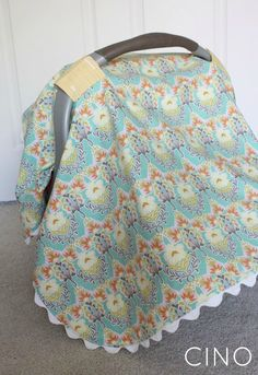 Sew-your-own carseat canopy... particularly good for a winter baby when you are trying to avoid random people passing germs to your little one