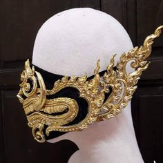 Diy Mask, Diy Face Mask, Face Masks, Mascaras Halloween, Thai Elephant, Différents Styles, Halloween Face Mask, Halloween Zombie, Halloween Night