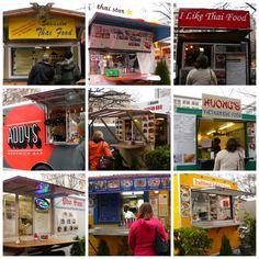 The food carts.  One of the reasons my son-in-law, the chef, likes to visit Portland.