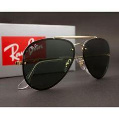e63d2f617ba79 Óculos de Sol Ray Ban Blaze Aviador RB3584N 9050 71-61