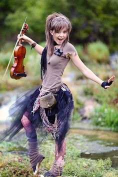 Lindsey Stirling is my favorite musician.She plays a lot of popular songs with her violin.I love the way that she can dance when she plays her songs because she is a good dancer.She is a beautiful and simple lady.I hope that I will have the chance to meet her one day because I think that she is the best violinist in this world.