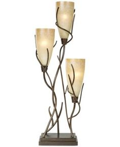 Pacific Coast El Dorado 3 Light Table Lamp - Gold