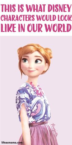 This Is What Disney Characters Would Look Like In Our World