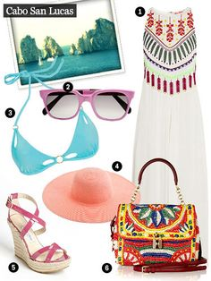 Beach Looks - Summer Beach Outfits - Marie Claire